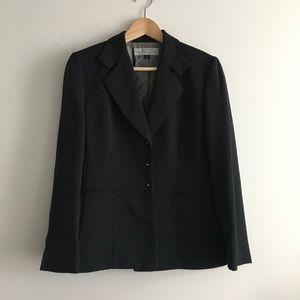 Tahari Blazer Striped Button Down Jacket Size 6P